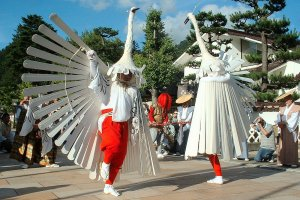 Heron Dance, a festival with over 500 years of history
