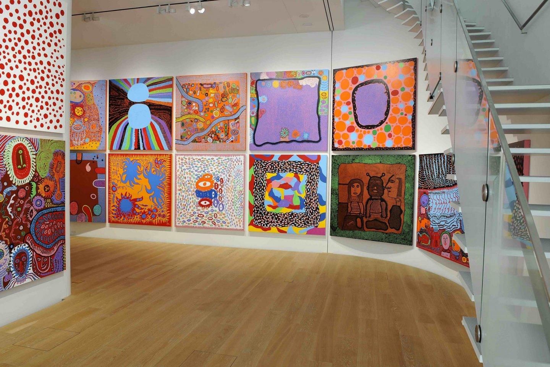 Выставка на третьем этаже музея