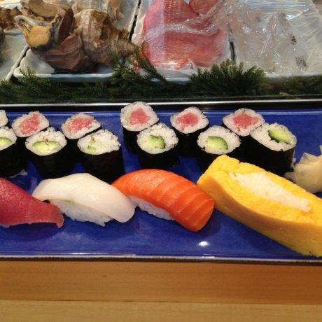 Sushi Yamazaki, Tsukiji Fish Market [Closed]
