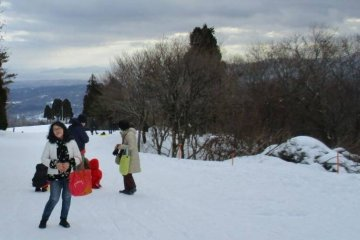 The stunning Lake Biwa