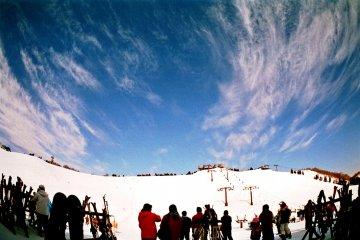 Лыжный курорт Хакодатэ