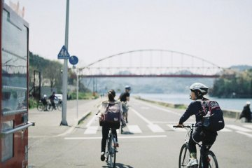 The local bike rental allows you to take the road like a pro