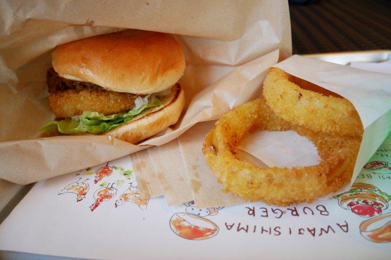 Awaji Island Onion Beef Burger