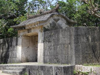 The UNESCO World Heritage Site of Sonohyan Utaki is considered to be sacred to include the stone gate itself and the garden of trees and shrubs around it