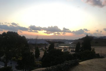 Outside Goshiki Wellness Park