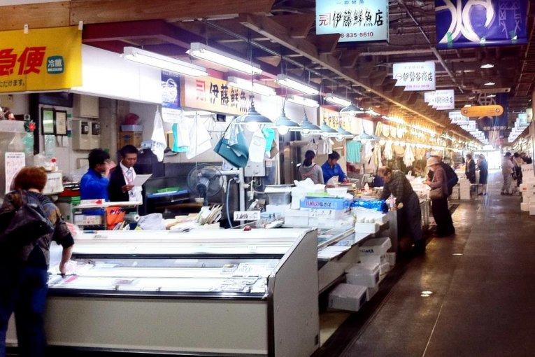 Farmers & Fishmongers Market Akita