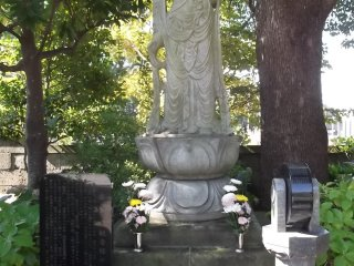 The Kannon, the Buddhist goddess of mercy