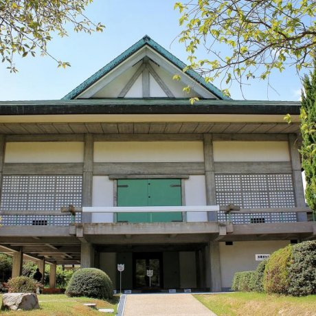 Oyamazumi Shrine Treasure Hall