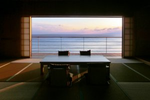 The Hakuin or Japanese Suite Room is a place of contemplation