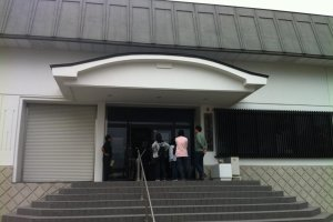 Entrance of Mamurogawa History and Folklore Museum
