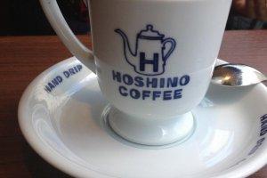 Hoshino Coffee hand drip