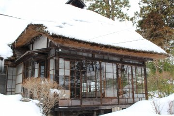 Samurai residence of the Miwa family in Kaminoyama district