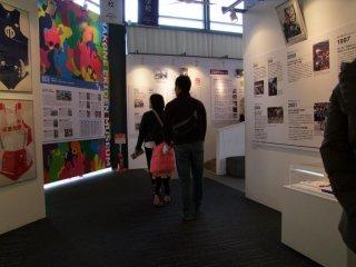 ミュージアムでは、地図、写真、過去のレース記録や逸話などを見ることが出来る