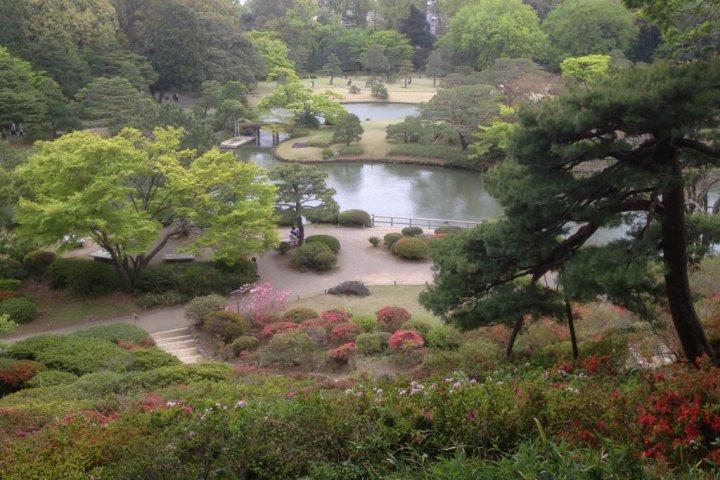 Rikugien (Riku Garden) Stroll