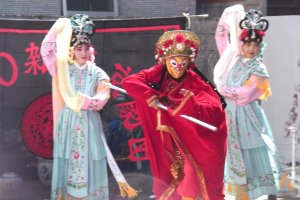 A Peking Opera-inspired performance