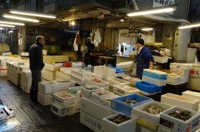 เดินชมตลาดปลาในโอตะ อิชิบะ