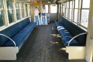 Inside the presentation train