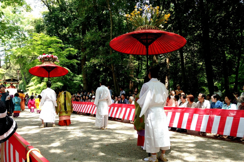 Experience the Aoi Festival at Shimogamo Shrine