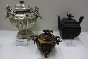 Takaoka-made incense burners