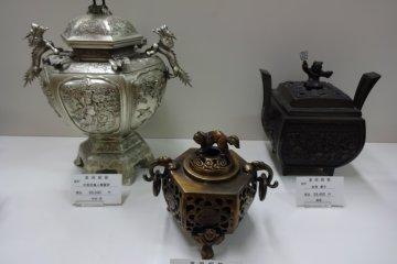 Takaoka-made incense burners