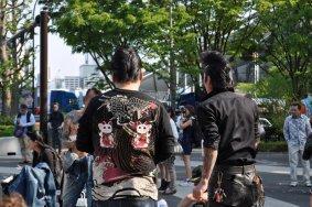 Рок-н-ролльные танцы в Парке Йойоги