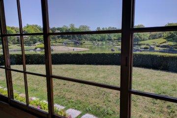 Вид из чайного домика