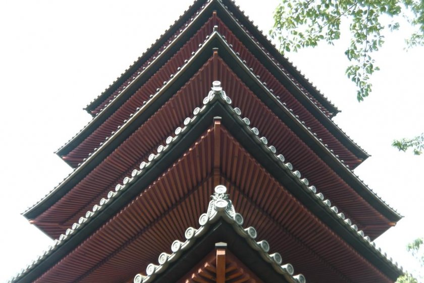 The oldest 5-story pagoda in Kanto