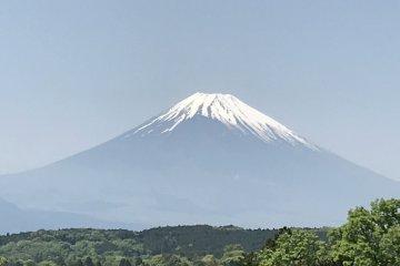 Вид на гору Фудзи с Мисима Скайуок