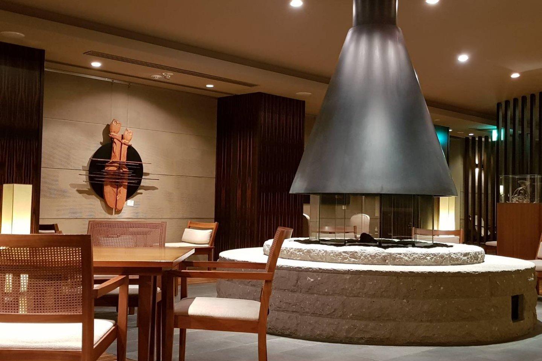 ล็อปปี้น่านั่งของโรงแรม
