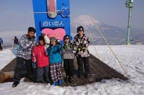 ตามหนู BB ไปเล่นสกีที่ Grand Hirafu