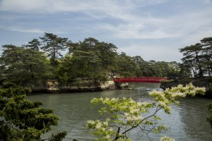 Oshima Island at Matsushima Bay is a great place for strolls