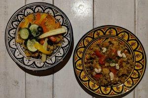 Main dishes - full of veggies!