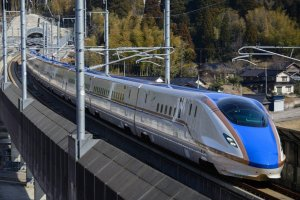 The shinkansen bullet train is Japan's most famous form of transport