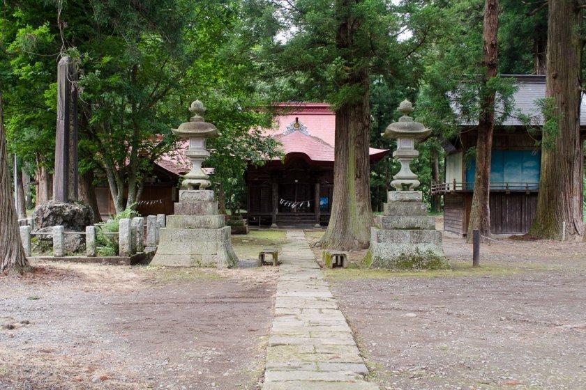 Entrance of the shrine