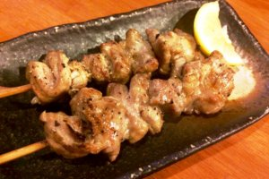 Amazing Yakitori starting from 50 yen