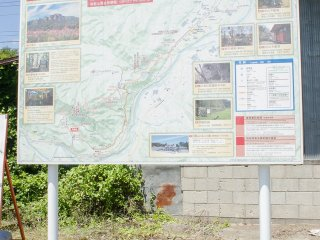 Map of the site.
