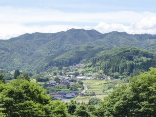 View of Agatsuma Valley