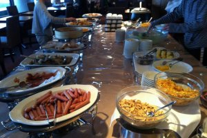 "The breakfast ""viking"" buffet"