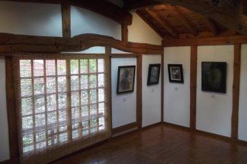 Art on display in Takahashi's house