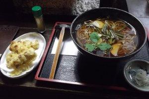 A local soba dish