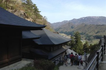 Hiking Yamadera