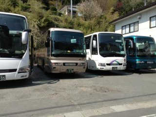 You know this is a popular place when you see several tour buses (on a weekday!) lined up in small parking lots nearby.