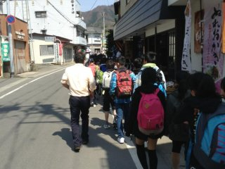 I happen to visit with a school group. We were often greeted by the friendly numerous shop and restaurant staff. The streets leading to the entrance is a great place to recharge before your big hike!