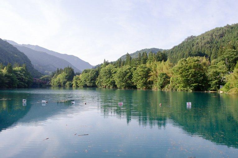 Lake Shima in Nakanojo