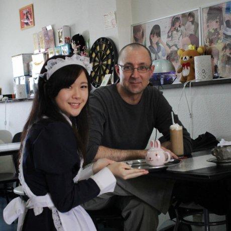Merry Maid Café in Matsuyama
