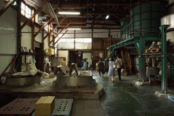Inside the Suehiro Sake Brewery