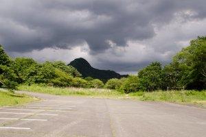 Behind Haruna mountain