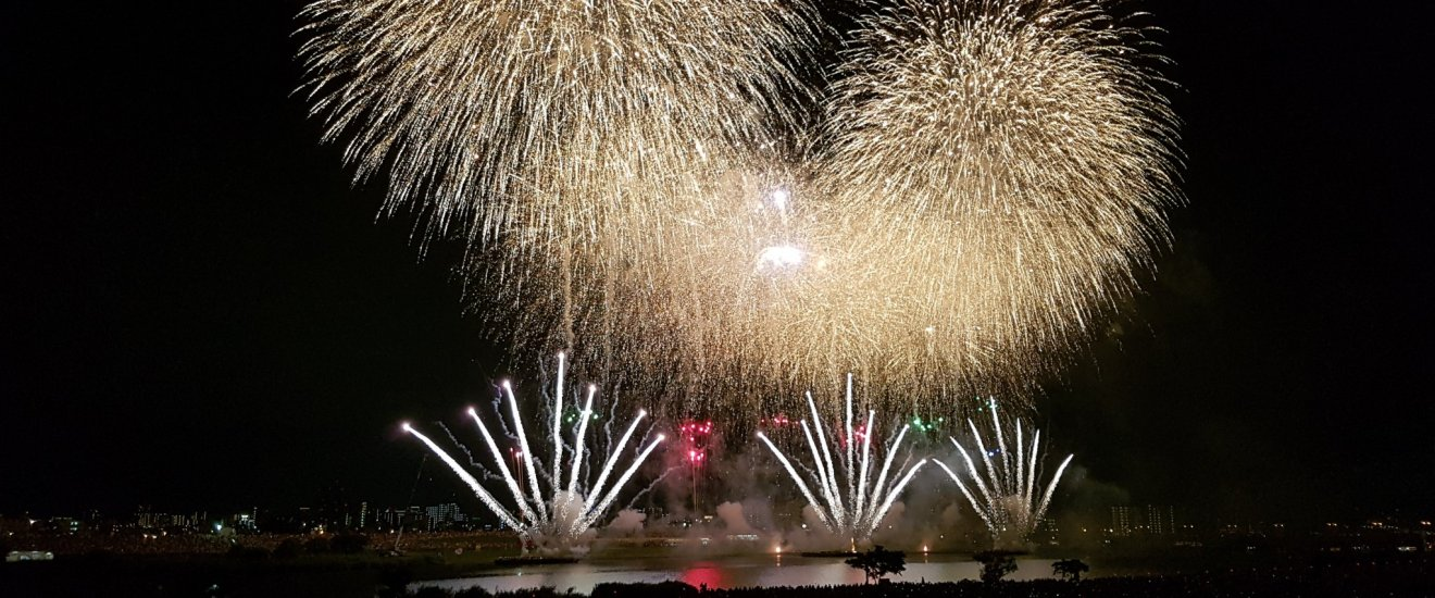 Golden final at Adachi Fireworks