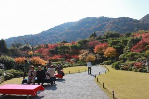 ความสวยงามของโอโคชิ ซันโสะ มีมุมให้เลือกชมมากมาย
