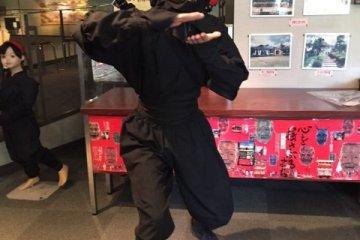 岸和田會館—穿上服裝,扮裝成忍者!